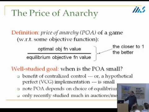 Simple Auctions with Near-Optimal Equilibria - Tim Roughgarden
