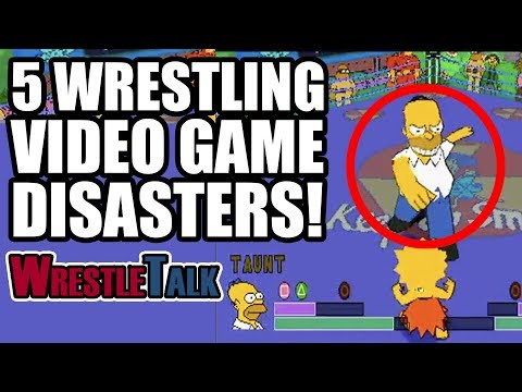 5 Wrestling Video Game DISASTERS!