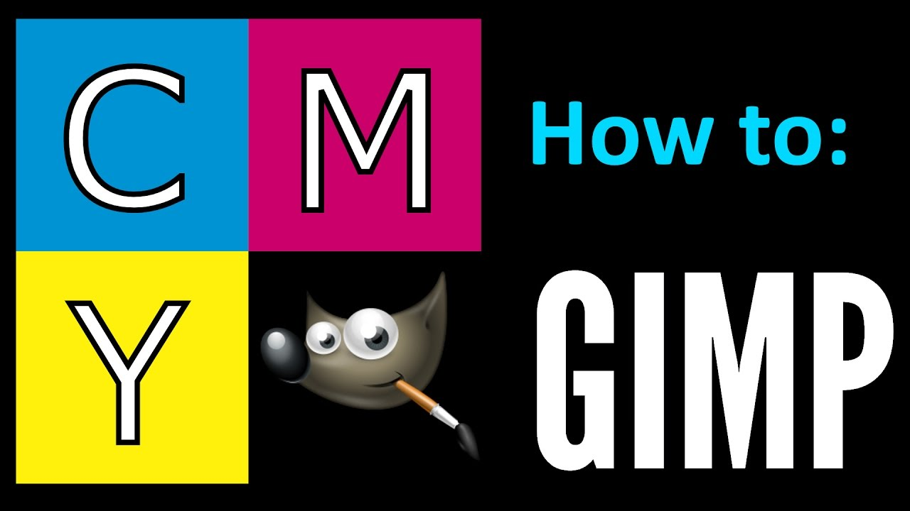 How to - CMYK ICC color profile for GIMP 2 8!
