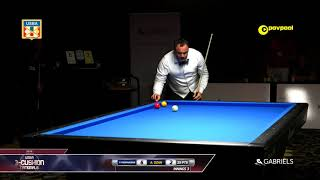 #9 - Pedro PIEDRABUENA vs Ahmet OZAN / 2018 USBA 3 Cushion National Championship