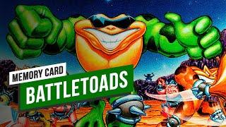 MEMORY CARD: Recuerdos de BATTLETOADS