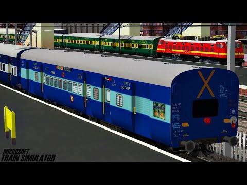 New Delhi - Darbhanga Junction Bihar Sampark Kranti Express | MSTS Indian Railways | Train Simulator