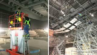 Ekous Wave Ceiling for Auditorium Acoustics