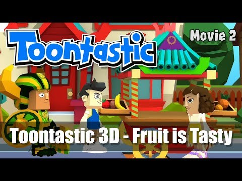 Toontastic 3D - Movie #2 - Fruit is Tasty by BWoT - Creative Storytelling App from Google
