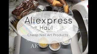 Aliexpress Haul : Cheap Nail Art Products