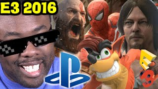 sony playstation e3 2016 press conference review