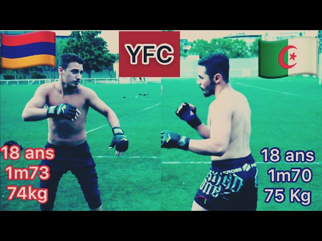 YOUTUBE FIGHT CLUB - COMBAT #15 RAYAN 🇩🇿 ARMEN 🇦🇲