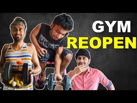 Gym Reopening India News  ft. @Chote Miyan     BasKarAbhi