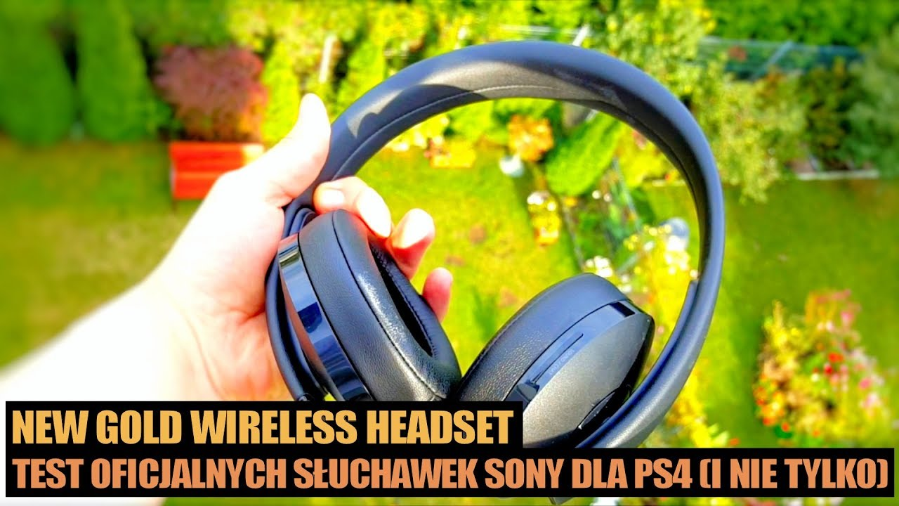sony new gold wireless headset recenzja test. Black Bedroom Furniture Sets. Home Design Ideas