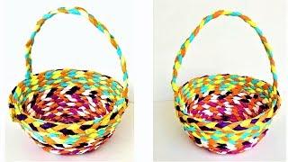 DIY Paper Basket | Easy Paper Craft Ideas | Hand Made Crafts