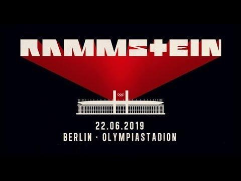 Rammstein - Stadium Tour - Berlin, 22.06.19 - Intro, Was Ich Liebe (4K)