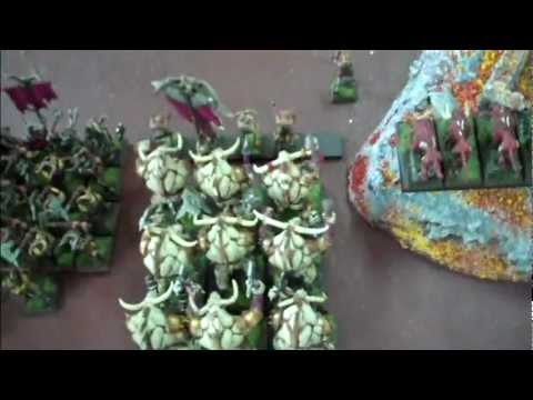 Beastmen vs Orcs 01 Glade of Tears