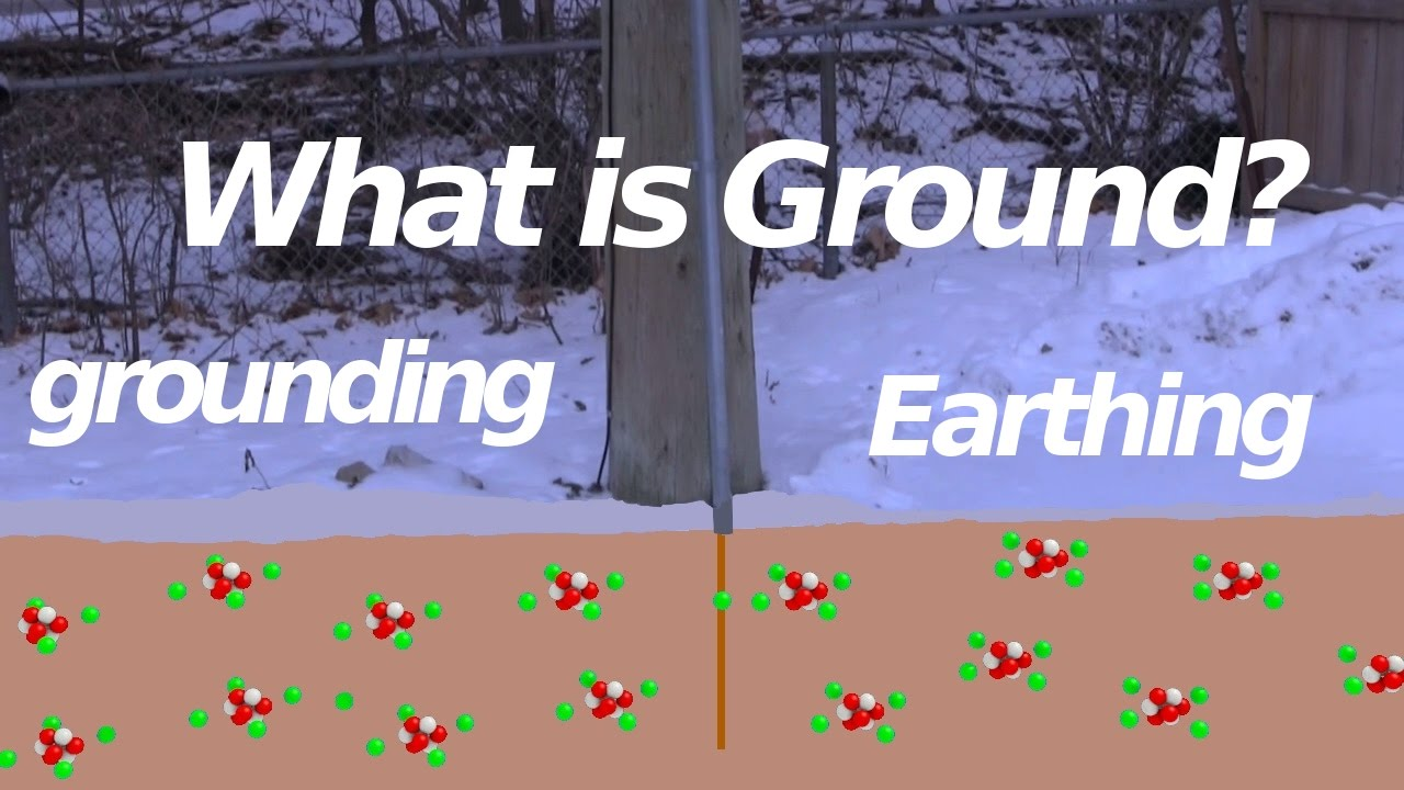 What Is Ground Earth Earthing Youtube High Resistance Wiring Diagram