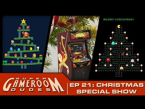 Arcade1Up, AtGames, Toy Shock, iiRcade, SEGA  & More Christmas Show! | SGRD Ep. 21 from PDubs Arcade Loft