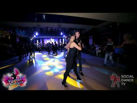 Maycheal Mrad & Myrto Misyri  - Salsa social dancing | Beirut Salsa Loca 2018