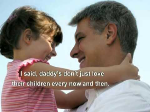 A Love Without End -- George Strait with lyrics for Fathers day