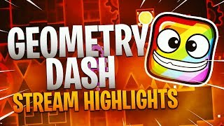 CATACLYSM IN 2 ATTEMPTS!! - Geometry Dash Highlights - Tosh