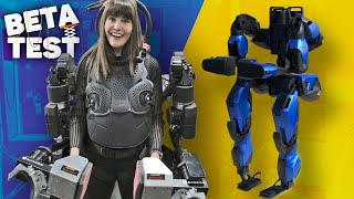 Guardian XO is a powered exoskeleton that makes you 20X stronger