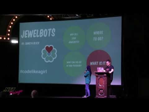 Sumaya Block - Jewelbots - Lightning Talk - .NET Fringe 2017