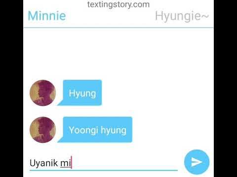 YoonMin Texting Story: Uzak Mesafeli İlişki
