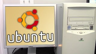 Installing the First Version of Ubuntu on the $5 Windows 98 PC