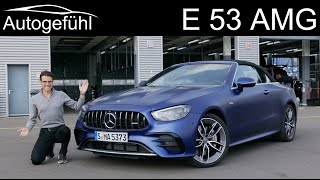 Mercedes E53 AMG FULL REVIEW Facelift Mercedes-AMG E53 Cabriolet 2021 - Autogefühl