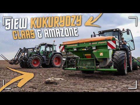 ☆ Agro-Zork W Akcji ! ✔ Siewy Kukurydzy 2020 ! ☆ Claas & Amazone ✔ Na Wielką Skalę ! [WIOSNA]