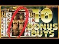 10 BONUS BUYS! Fishin' Frenzy Megaways & MORE!! - Online Casino Action !