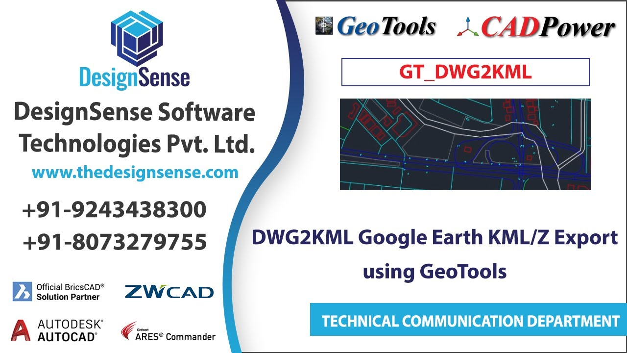 Geotools geographic dwg2kml google earth kmlz export youtube geotools geographic dwg2kml google earth kmlz export sciox Images