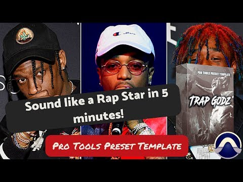 "Pro Tools Preset Template ""Trap Godz"" 