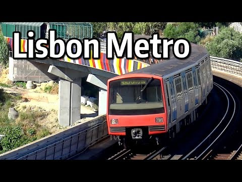 ⁴ᴷ Lisbon Metro Action