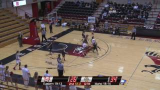 Highlights of Eastern Women's Basketball against Idaho (Mar. 20).