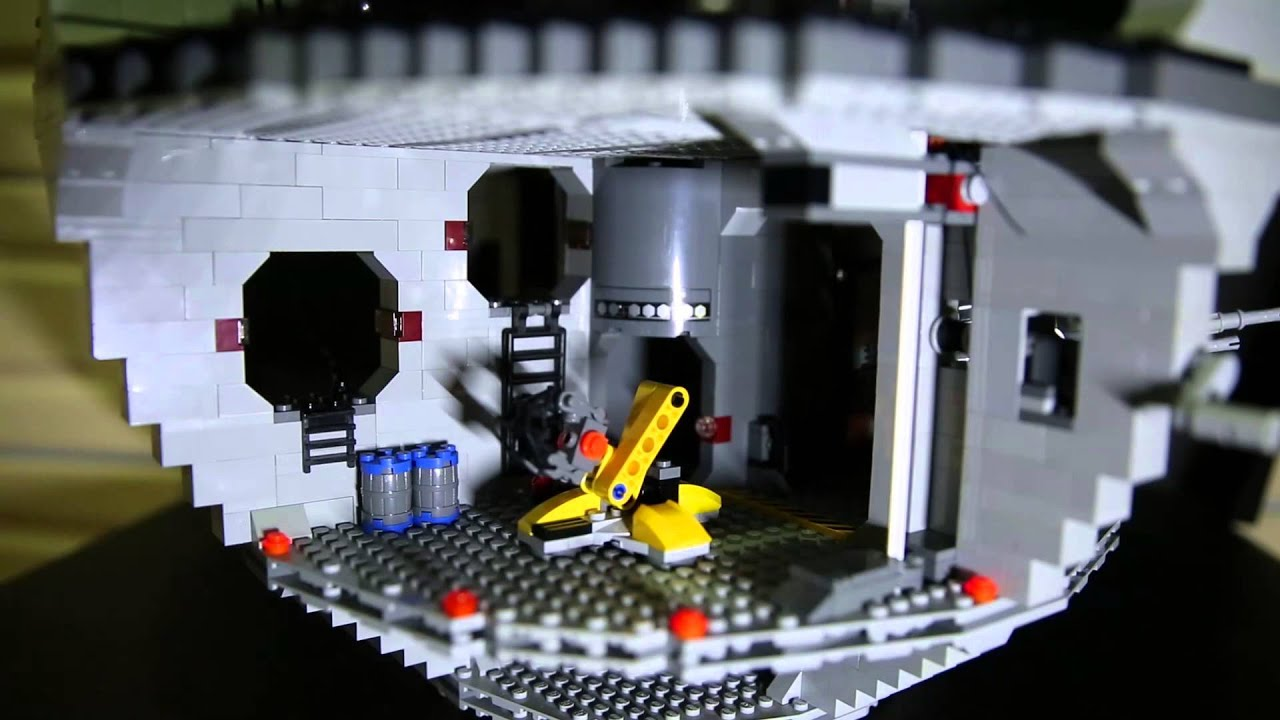 Lego 10188 Star Wars Death Star Review Youtube