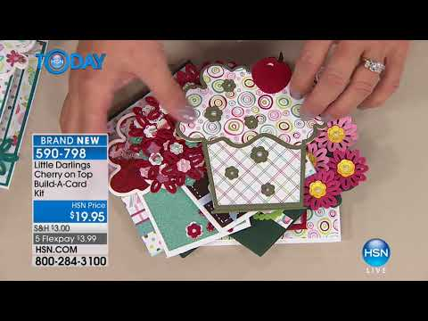 HSN | HSN Today: Paper Crafting Tools & Supplies 01.10.2018 - 07 AM