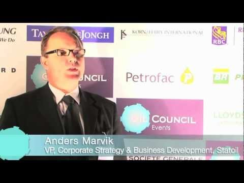 OIL COUNCIL: Anders Marvik Interview, Oil Council World Assembly.