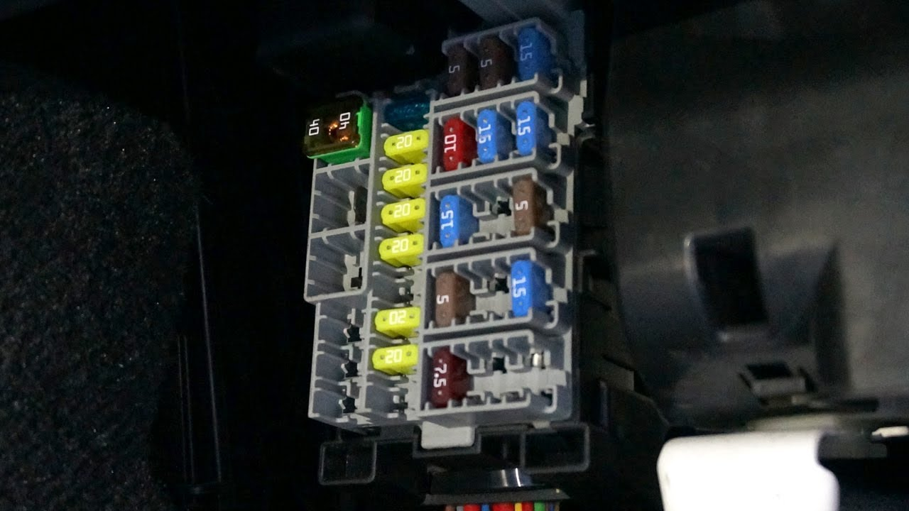 volvo xc60 cabin fusebox location youtube cabin fuse box volvo [ 1280 x 720 Pixel ]