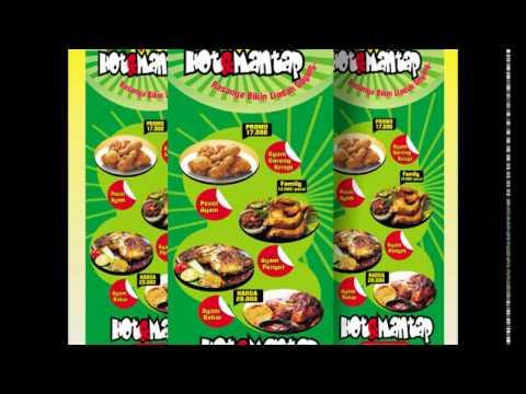 Luar Biasa Contoh Desain Banner Makanan Cdr - Erlie Decor