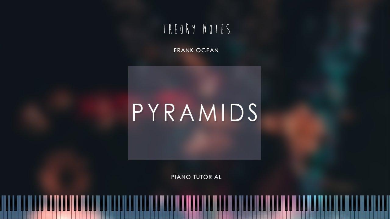 How to Play Frank Ocean - Pyramids | Theory Notes Piano Tutorial