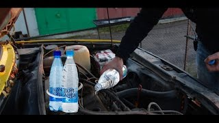 ШОК! Что будет если в рабочий двигатель залить воду?