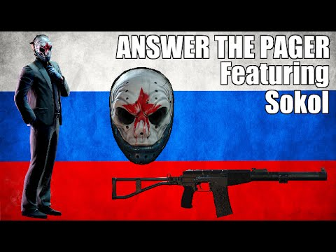 ANSWER THE PAGER - Featuring Sokol (Plus Other Voice Lines)