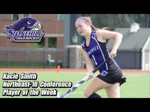 Stonehill Sophomore Kacie Smith Named NE-10 Player of the Week