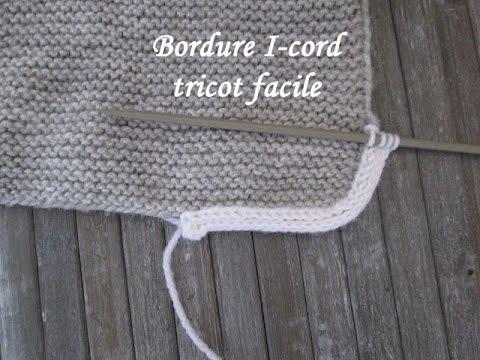 Tuto Edge I Cord Easy Knit