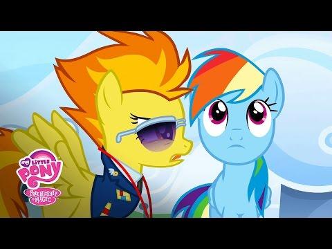 MLP: Friendship Is Magic Season 3 - 'Rainbow Dash's First Day At Wonderbolt Academy' Official Clip