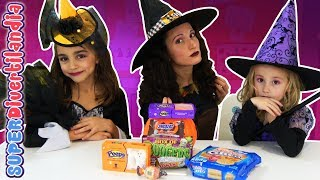 CHUCHES HALLOWEEN! Brujicienta y las brujitas en SUPERDivertilandia!