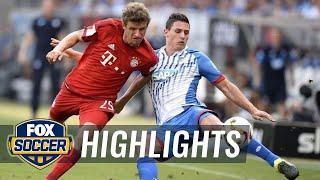 1899 Hoffenheim vs. Bayern Munich - 2015–16 Bundesliga Highlights