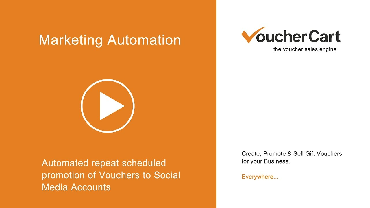 Marketing Automation with VoucherCart - The Voucher Sales Engine for ...