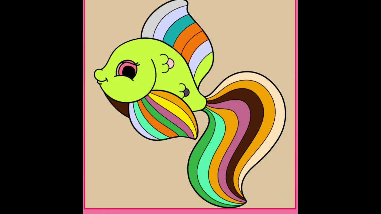 Boyama Oyunları Boyama Kitabı Unicorn Boyama Videoları Balık Boyama