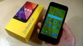 Обзор Asus ZenFone Go (ZB452KG)