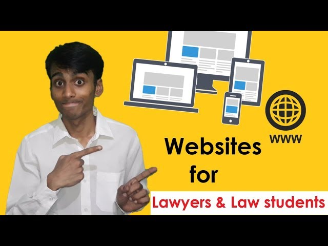 Websites for Lawyers & Law students