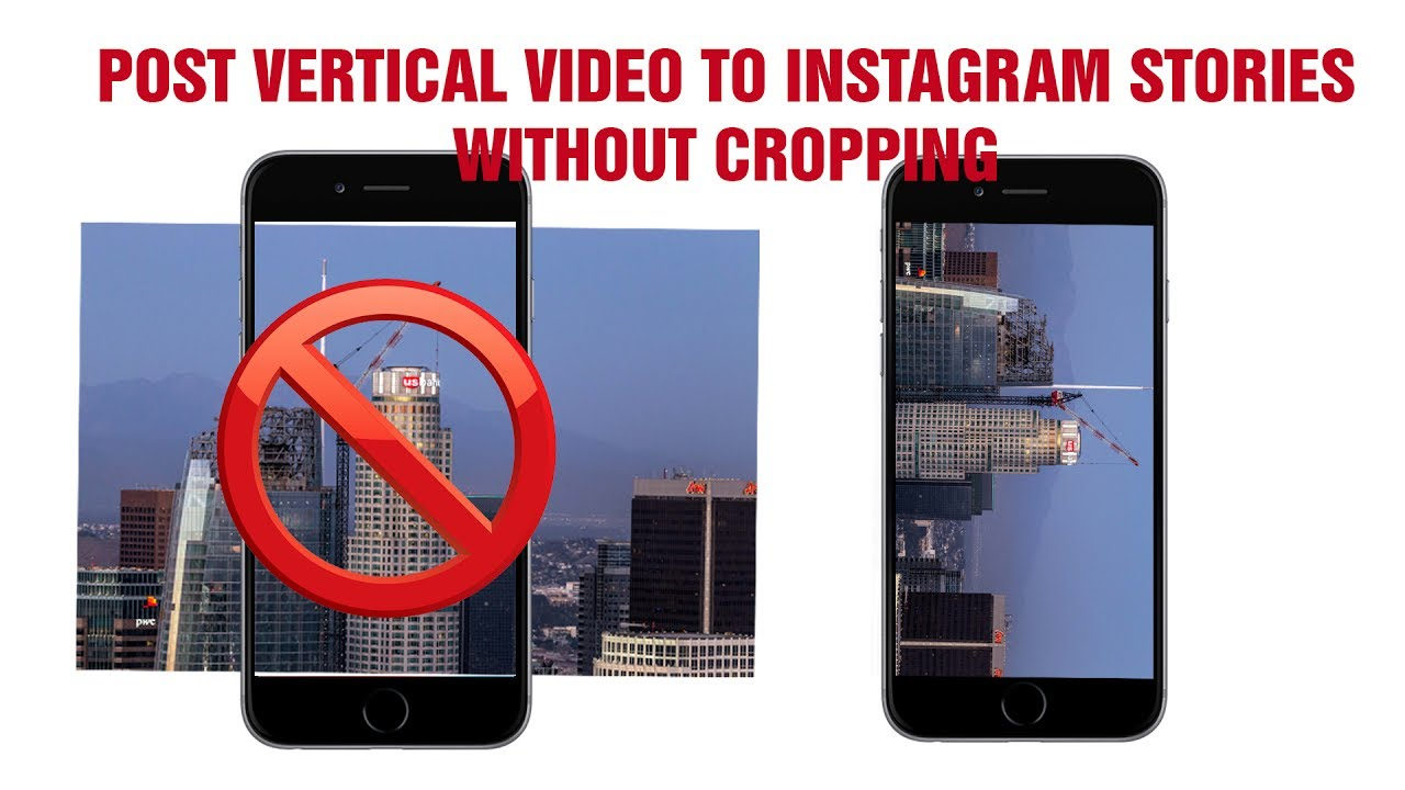 Instagram stories hack no cropping of video post video vertically instagram stories hack no cropping of video post video vertically using adobe premiere ccuart Gallery